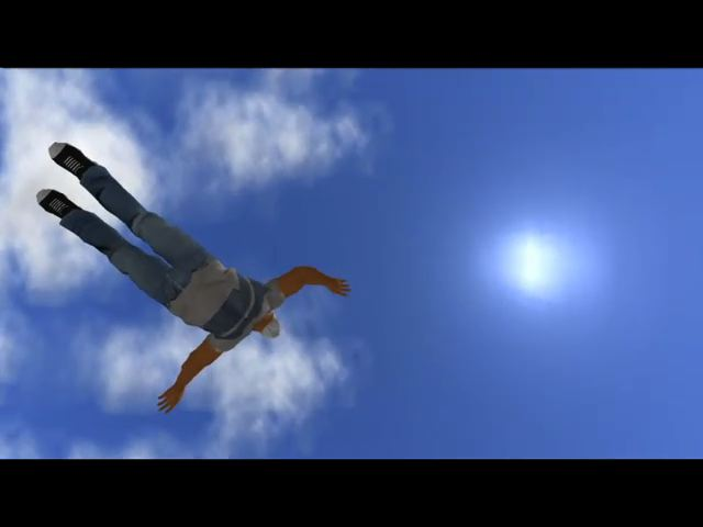 Figura 2: Avatar voa