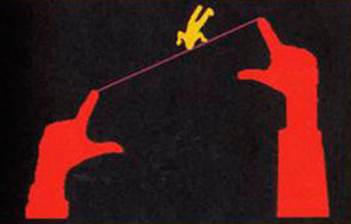 Figura 4: Videoplace, Myron Krueger, 1974-75 Fonte:http://90.146.8.18/en/archives/picture_ausgabe_03_new.asp?iAreaID=12&showAreaID=41&iImageID=16451