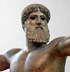 Figura 2: Artemísio,<i> Poseidon </i>(460 a.C.).<i> </i>Detalhe.