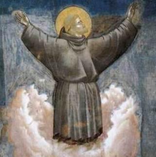 Figura 3: Giotto. <i>Êxtase de São Francisco </i>(1297-1330). Detalhe.
