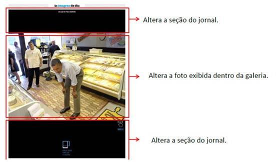 Figura 6: A galeria de fotos pode gerar insegurança nas operações.