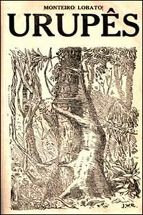 Figura 2: Capa de Urupês, de Monteiro Lobato, ilustrada por José Wasth Rodrigues (1918).