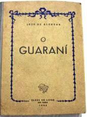 Figura 4: Capa de O Guarani, de José de Alencar (1943).