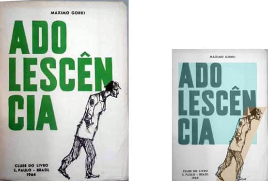 Figura 17: <i>Adolescência</i>, de Máximo Gorki (maio de 1964).