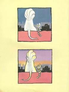 Figura 15: Passagem da noite para o nascer do sol em <i>Viriato e o leão</i>.