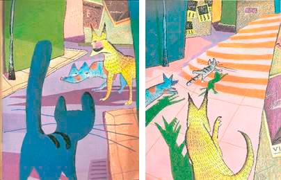 Figura 24: Páginas 1 e 2 de Viriato e o leão.