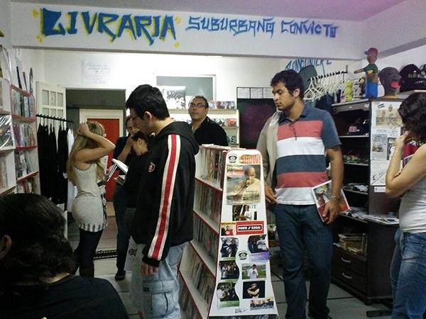 Figura 4: Livraria Suburbano Convicto (foto: Marilda Borges)