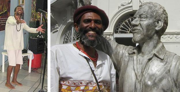 Figuras 1 e 2: Os poetas Miró (à esquerda) e França