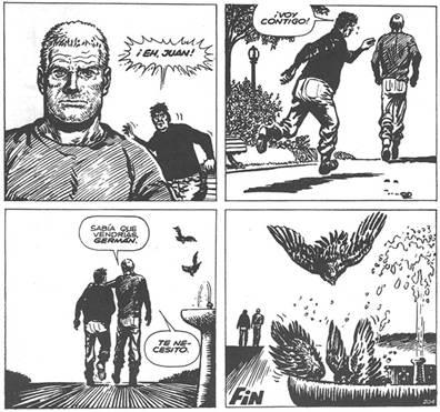 Figura 7 – El Eternauta (Oesterheld, Lopéz, 2007, p. 208).