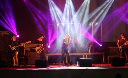 Show realizado na 3ª edição do Roque Pense, em 2015.