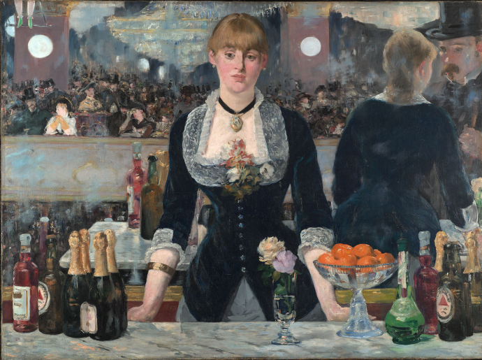 Edouard Manet: <em>Bar no Folies-Bergère</em>