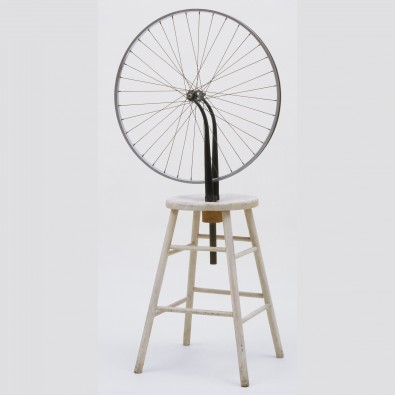 <em>Roda de bicicleta: </em>ready-made<em> de Marcel Duchamp</em>