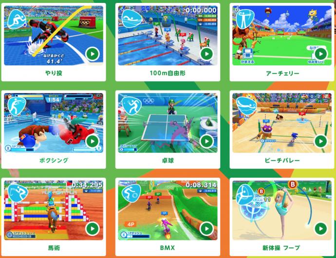 Figura 4: Detalhamento das modalidades constante na tela inicial do jogo