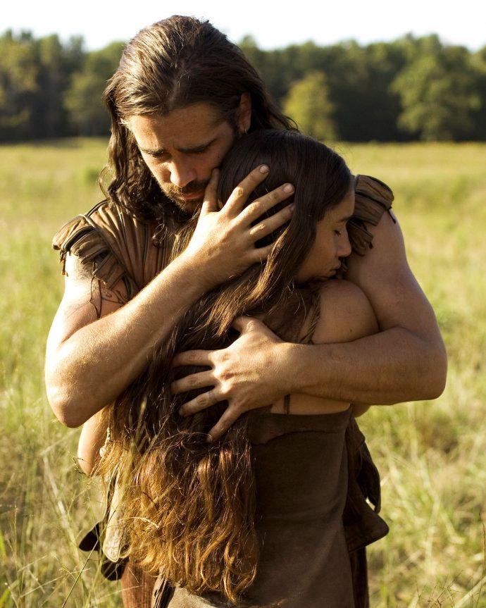 <em>Gestual de </em>O novo mundo<em> compreende toque, carinho e</em><em>romance entre Capitão Smith e Pocahontas</em>