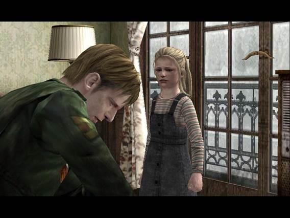 Laura descobre que James foi o responsável pela morte de Mary. Silent Hill 2