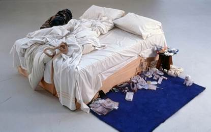 Figura 3: Tracey Emin, My Bed, 1999