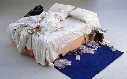 Figura 3: Tracey Emin, My Bed, 1999