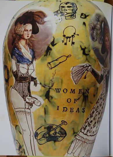 Figura 9: Grayson Perry, Women of Ideas, 1990