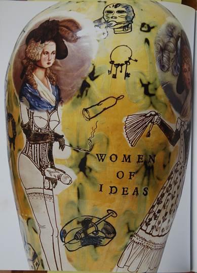 Figura 9: Grayson Perry, Women of Ideas, 1990