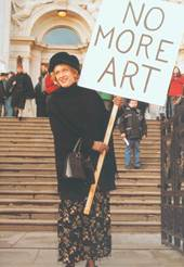 Figura 19: NO MORE ART!, Tate Gallery, Londres