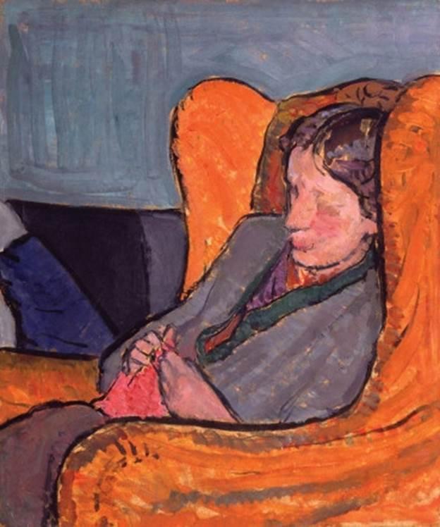 Vanessa Bell. Virginia Woolf (née Stephen), c. 1912. © National Portrait Gallery, Londres