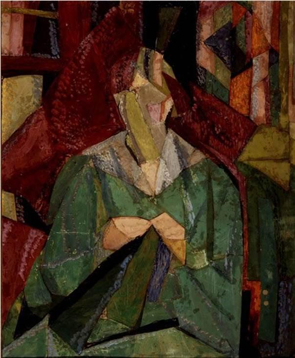Vanessa Bell. Portrait of Molly MacCarthy, 1914-15. © Estate of Vanessa Bell. Cortesia de Henrietta Garnett