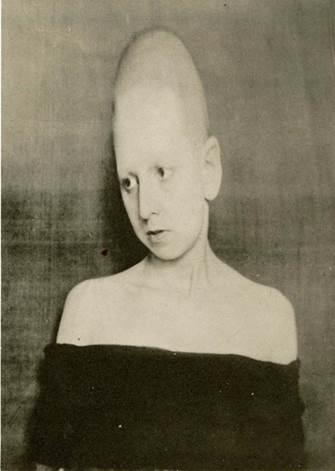 Frontière humaine, autorretrato, 1930