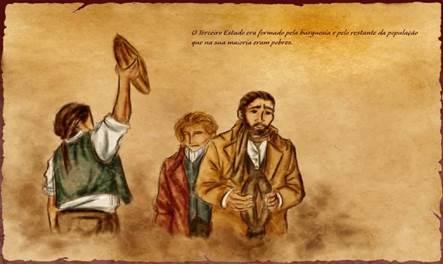 Captura de tela do Jogo Tríade – Comunidades Virtuais