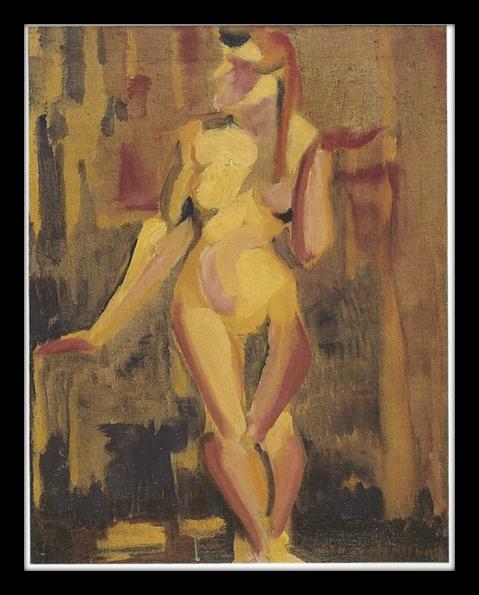 """""""Nu cubista"""", Anita Malfatti (1919)"""