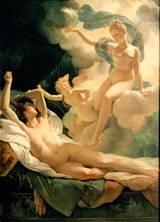 Morfeu e Íris, de Pierre-Narcisse Guérin (1811)