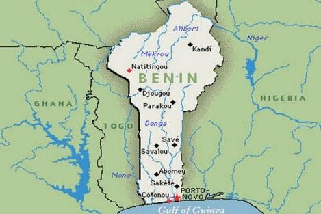 Atual mapa da África