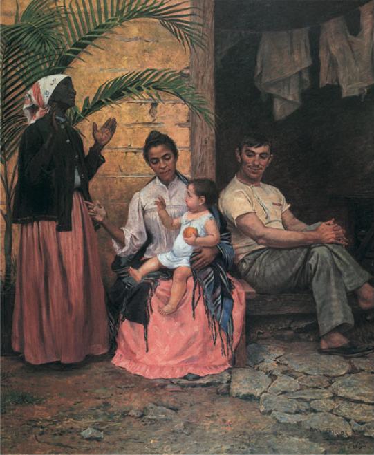 Modesto Brocos y Gomes — A redenção de Cam, OST, 199x166cm — 1895