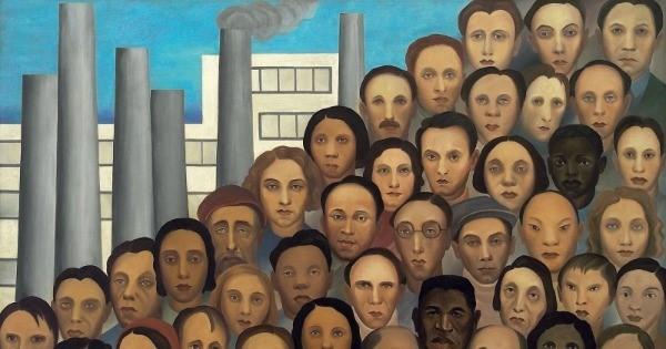Os operários. Tarsila do Amaral (1933)