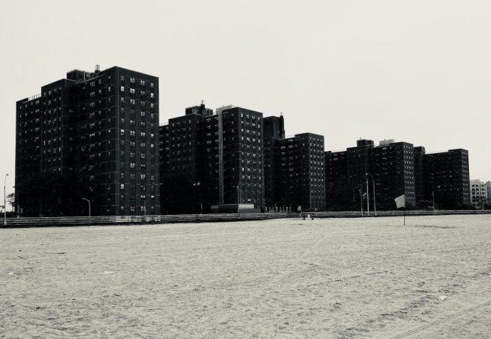Conjunto habitacional Coney Island Houses, da Autoridade Habitacional da Cidade de Nova York, 2020. Acervo pessoal.