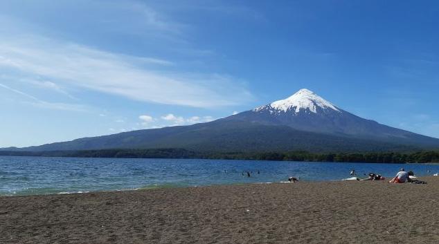 Vulcão Osorno. Acervo pessoal.