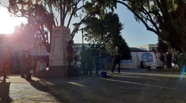 Plaza de Armas. Acervo pessoal.