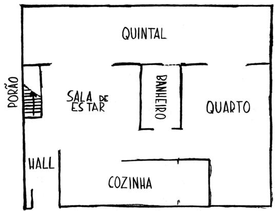 Figura 1: Planta do Experimento Odradek – Domicílio Incerto. Disponível em: https://www.experimento-odradek.com/comodos
