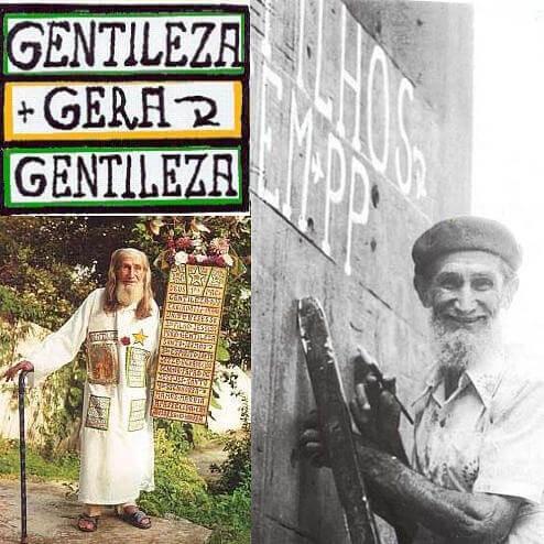 Figura 3: Profeta Gentileza. Disponível em: https://www.revistaprosaversoearte.com/gentileza-gera-gentileza-profeta-gentileza-jose-datrino/.